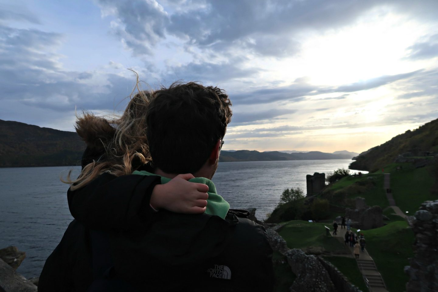father daughter loch ness