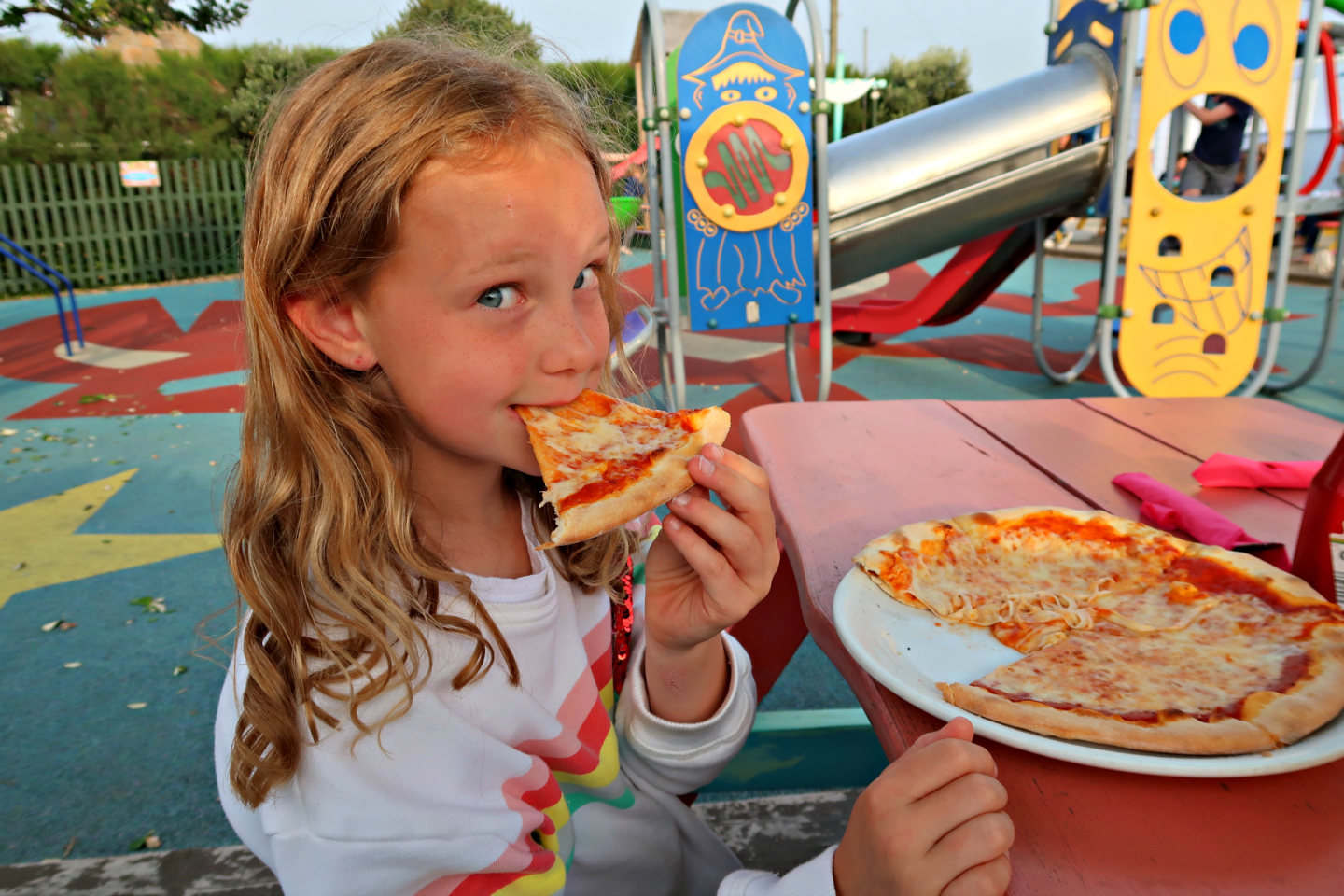 Pizza at Crabby Jack's