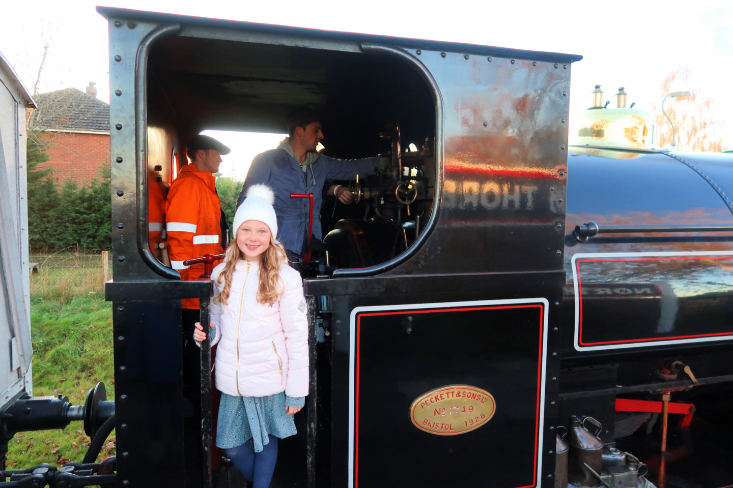 Ludborough Steam Train Lincolnshire