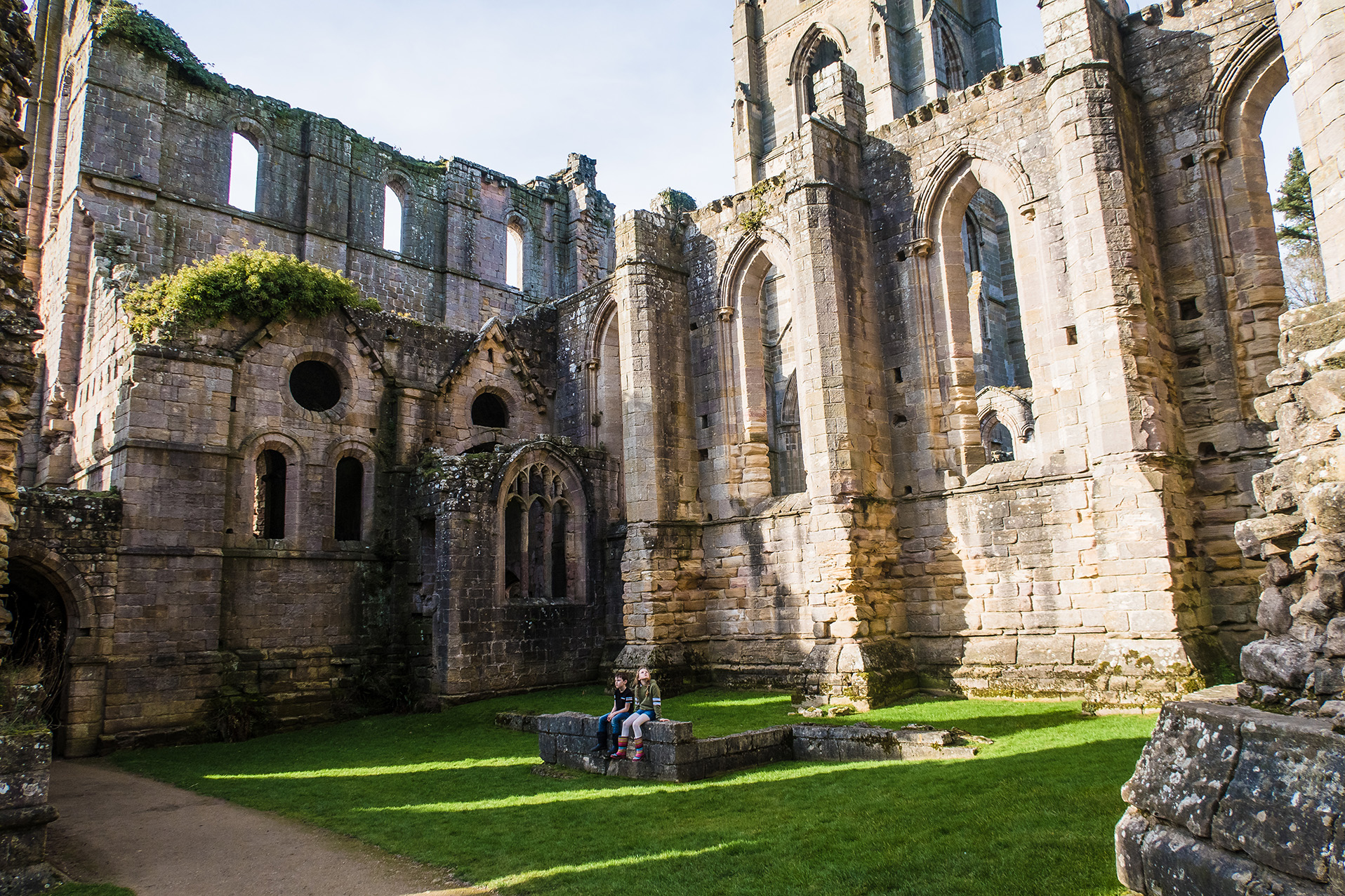 Ruins at Fountains Abbey