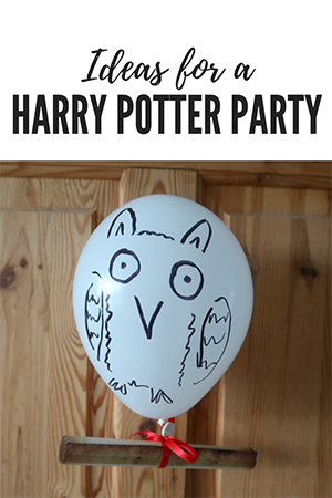 harry potter party, harry potter themed day, harry potter party ideas